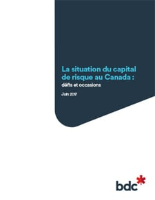 La situation du capital de risque au Canada
