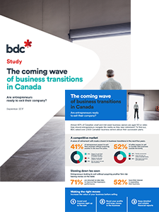 The Coming Wave of Business Transitions in Canada