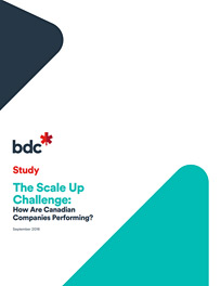The Scale Up Challenge: How Are Canadian Companies Performing?