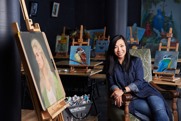 Lily Yuan, Lily Yuan Art Studio and Gallery
