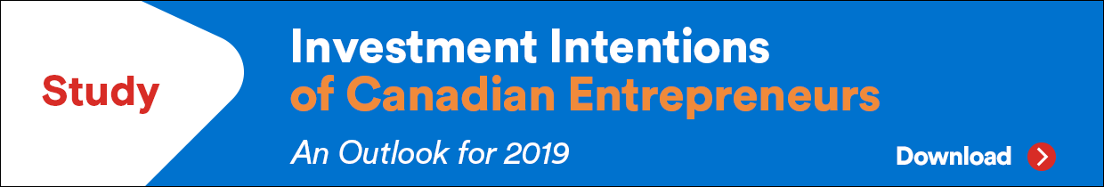 Study - Investment Intentions of Canadian Entrepreneurs