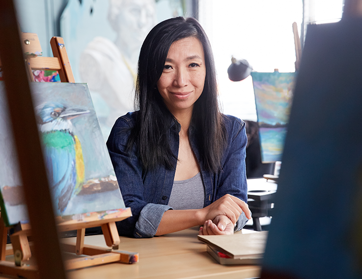 Lily Yuan, Art Studio and Gallery