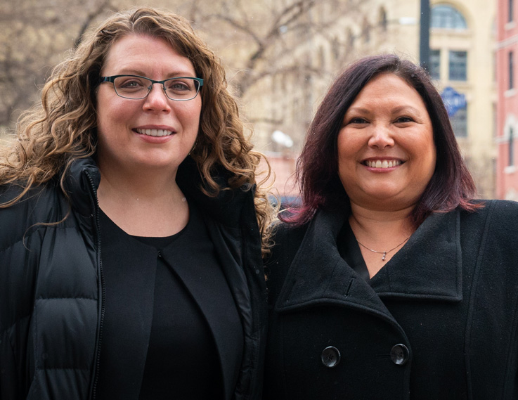 Watch Priscilla Sternat-McIvor and Lisa Manaigre's story
