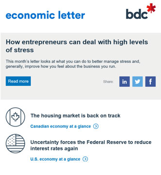 Newsletter and economic letter