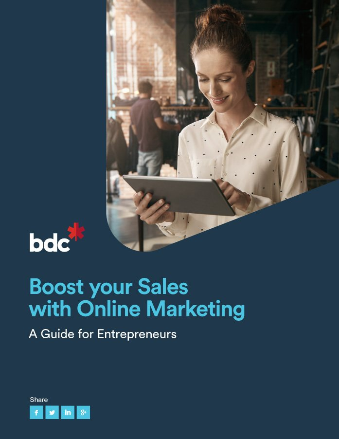 Free eBook: Boost your sales with online marketing